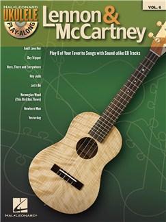 Ukulele Play-Along Volume 6: Lennon & McCartney Books and CDs | Ukulele