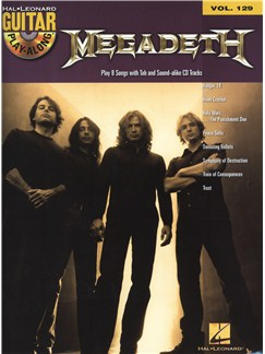 Guitar Play-Along Volume 129: Megadeth Books and Digital Audio | Guitar, Guitar Tab