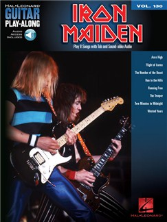 Guitar Play-Along Volume 130: Iron Maiden (Book/Online Audio) Books and Digital Audio | Guitar