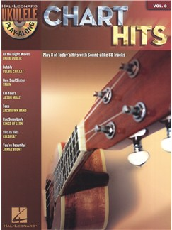 Ukulele Play-Along Volume 8: Chart Hits Books and CDs | Ukulele