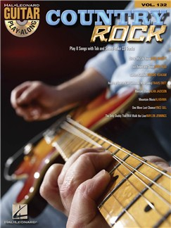 Guitar Play-Along Volume 132: Country Rock Books and CDs | Guitar Tab, Guitar