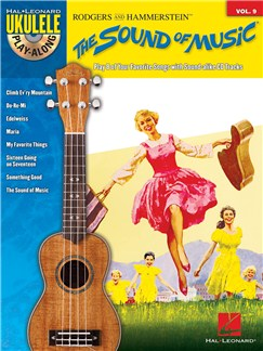 Ukulele Play-Along Volume 9: The Sound Of Music Books and CDs | Ukulele