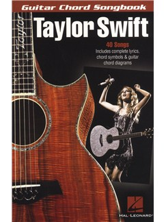 Taylor Swift: Guitar Chord Songbook Books | Lyrics & Chords