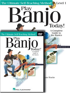 Play Banjo Today! Beginner's Pack Books, CDs and DVDs / Videos | Banjo