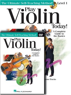 Play Violin Today! Beginner's Pack Books, CDs and DVDs / Videos | Violin