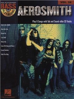 Bass Play-Along Volume 36: Aerosmith Books and CDs | Bass Guitar, Bass Guitar Tab
