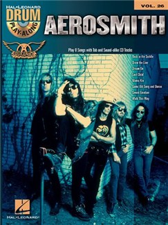 Drum Play-Along Volume 26: Aerosmith Books | Drums