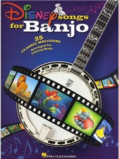 Disney Songs For Banjo Books | Band Tab, Banjo