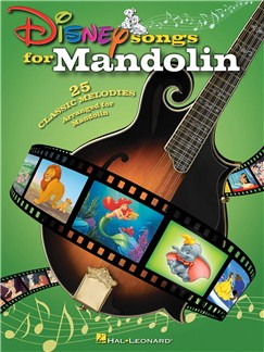 Disney Songs For Mandolin Books | Mandolin