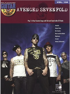 Guitar Play-Along Volume 134: Avenged Sevenfold Books and CDs | Guitar Tab, Guitar
