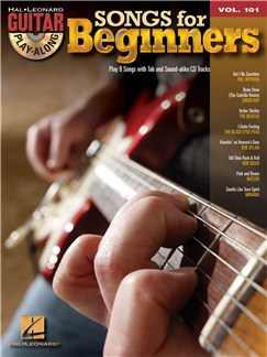 Guitar Play-Along Volume 101: Songs For Beginners Books and CDs | Guitar, Guitar Tab