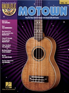 Ukulele Play-Along Volume 10: Motown Books and CDs | Ukulele