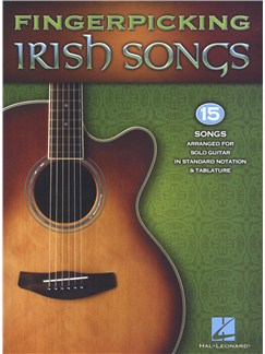 Fingerpicking Irish Songs Livre | Guitare, Tablature Guitare