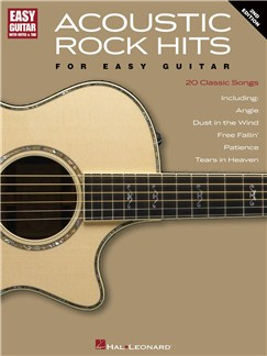Acoustic Rock Hits For Easy Guitar - Second Edition Books | Guitar Tab, Guitar