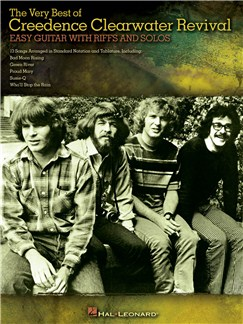 The Very Best Of Creedence Clearwater Revival - Easy Guitar With Riffs And Solos Books | Guitar Tab