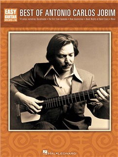 Best of Antonio Carlos Jobim for Easy Guitar Livre | Tablature Guitare