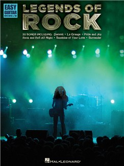Legends Of Rock: Easy Guitar With Notes And TAB Books | Guitar Tab