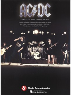 AC/DC: Easy Guitar With Riffs And Solos Livre | Tablature Guitare, Guitare