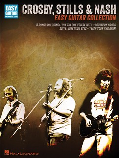 Crosby, Stills & Nash: Easy Guitar Collection Books | Guitar, Guitar Tab