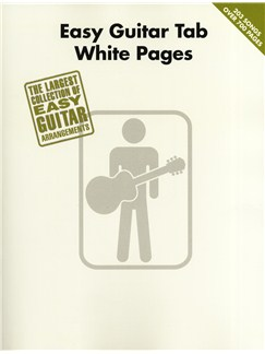 Easy Guitar Tab White Pages Libro | Tablatura de Guitarra