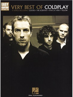 Coldplay: Very Best Of - Easy Guitar Books | Guitar Tab