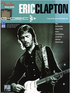 Fender Special Edition G-DEC Guitar Play-Along Pack: Eric Clapton Books | Guitar Tab, Guitar