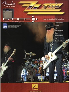 Fender Special Edition G-DEC Guitar Play-Along Pack: ZZ Top Books and Digital Audio | Guitar, Guitar Tab