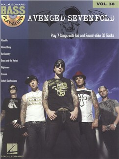 Bass Play-Along Volume 38: Avenged Sevenfold Books and CDs | Bass Guitar, Bass Guitar Tab
