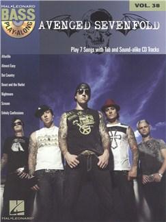 Bass Play-Along Volume 38: Avenged Sevenfold Books and CDs | Bass Guitar, Bass Guitar Tab