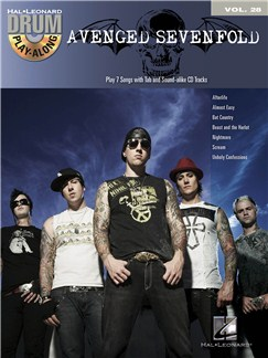 Drum Play-Along Volume 28: Avenged Sevenfold Books and CDs | Drums
