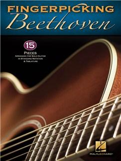 Fingerpicking Beethoven Livre | Guitare, Tablature Guitare
