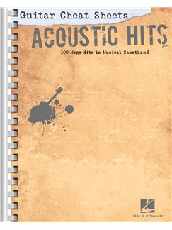 Guitar Cheat Sheets: Acoustic Hits Books | Guitar Tab, Guitar