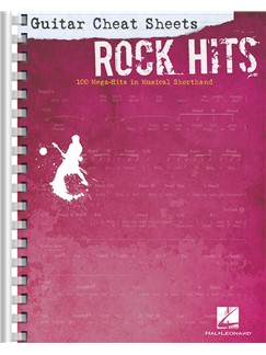 Guitar Cheat Sheets: Rock Hits Books | Guitar, Guitar Tab