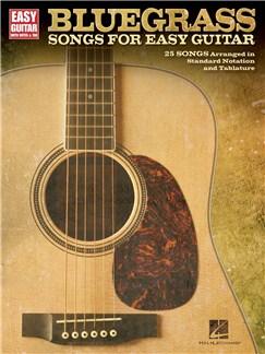 Bluegrass Songs For Easy Guitar Livre | Tablature Guitare, Guitare
