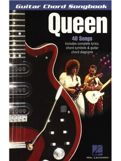 Guitar Chord Songbook: Queen Livre | Paroles et Accords