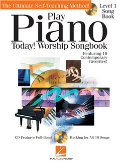 Play Piano Today! - Worship Songbook Books and CDs | Piano