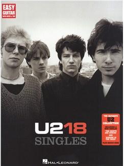 U2: 18 Singles (Easy Guitar) Livre | Tablature Guitare, Guitare