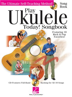 Play Ukulele Today! - Songbook Books and CDs | Ukulele