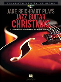 Jake Reichbart Plays Jazz Guitar Christmas Books and CDs | Guitar, Guitar Tab