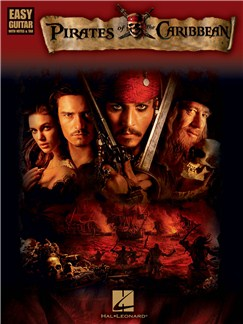 Pirates Of The Caribbean - Easy Guitar Books | Guitar Tab, Guitar