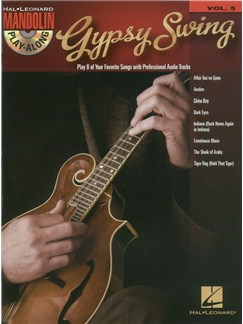 Mandolin Play-Along Volume 5: Gypsy Swing Books and CDs | Mandolin