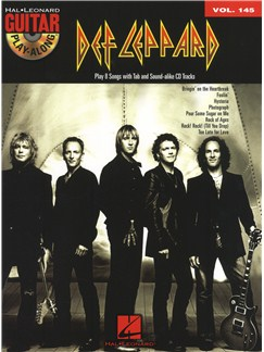 Guitar Play-Along Volume 145: Def Leppard Books and CDs | Guitar, Guitar Tab