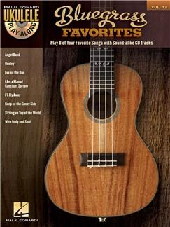 Ukulele Play-Along Volume 12: Bluegrass Favorites Books and CDs | Ukulele