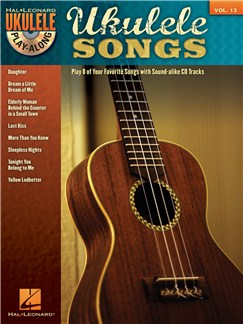 Ukulele Play-Along Volume 13: Ukulele Songs CD y Libro | Ukelele