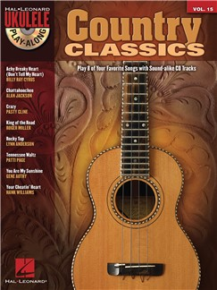 Ukulele Play-Along Volume 15: Country Classics Books and CDs | Ukulele