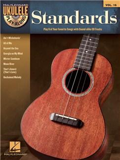 Ukulele Play-Along Volume 16: Standards Books and CDs | Ukulele