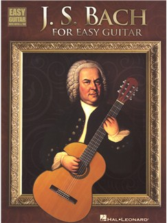 J.S. Bach for Easy Guitar Livre | Guitare, Tablature Guitare