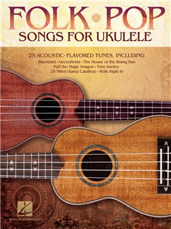 Folk Pop Songs For Ukulele Books | Ukulele