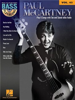Bass Play-Along Volume 43: Paul McCartney CD et Livre | Guitare Basse