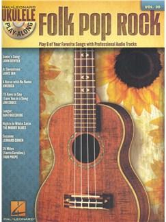 Ukulele Play-Along Volume 20: Folk Pop Rock Books and CDs   Ukulele